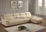 Sofa en cuir classique moderne de salle de séjour à la maison de meubles (UL-NS308)