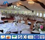 屋外の大きく白いおおいの販売のための贅沢な結婚式の玄関ひさし党テント