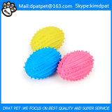Haltbares Kauen-Kugel-Haustier-Gummihundespielzeug