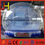 Aufblasbare Schnee-Kugel-Weihnachtsdekorationen/aufblasbares Luftblasen-Zelt