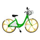 3 5 스포크로 시스템을 공유하는 Mobike 작풍 각자 임대료 샤프트 드라이브 자전거는 지원된 변죽 바퀴 지능적인 GPRS 자물쇠 APP를 통합했다