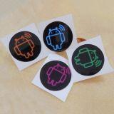 Het hete Etiket van de Sticker RFID van de Markering van de Verkoop Programmeerbare Zelfklevende