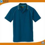 2017 chemises de polo de plaine de coton d'usine de chemises de polo des hommes