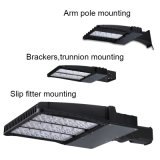 100W Shoebox 승인되는 가벼운 LED 가로등 ETL