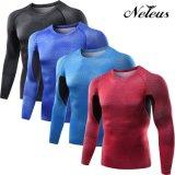 Vestiti correnti della maglietta di sport di compressione degli uomini di Dt0526 Neleus