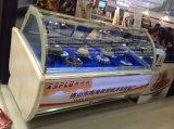 Kundenspezifische Aussehen-Eiscreme-Bildschirmanzeige-Gefriermaschine