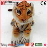 Tigre réaliste de peluche de jouet de peluche d'ASTM