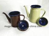 Botella del café de la botella de agua del crisol del té del jarro de agua de la caldera del esmalte