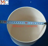 Cadinho 1800c Al2O3 cerâmico resistente abrasivo