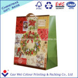 Bolsa de papel reciclable más barata de encargo de Whithe Kraft