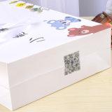 Хозяйственная сумка квадратных нижних коммерчески Totes метки частного назначения бумажная