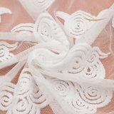 Merletto domestico della guarnizione del poliestere dell'indumento della tessile per il tessuto del merletto della biancheria