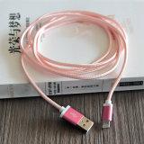 Het nylon Metaal vlechtte 1.5m Androïde voor Micro- USB van de Gegevens van de Lader van Samsung Kabel