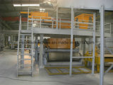 Máquina automática de Line&Press de la producción del cuarzo de la aglomeración