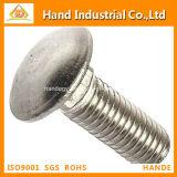 El mejor tornillo del cuello del cuadrado del acero inoxidable de las existencias 316 del precio DIN603