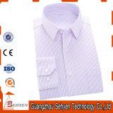 Camicia convenzionale di affari della camicia di vestito dal cotone degli uomini della fabbrica