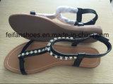 santals extérieurs d'été de chaussures de talons hauts de femmes de 2-3cm