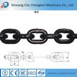 Breve catena a maglia galvanizzata collegamento standard dell'acciaio legato della catena del caricamento En818-2 per la gru