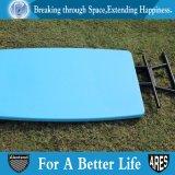 屋外のHDPE個人的で調節可能な表の青