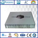 Panneau en aluminium de nid d'abeilles d'enduit de PE pour le matériau de construction