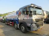 China HOWO T5g 8X4 Oil Tanker Truck com capacidade de 25000L