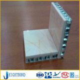 경량 대리석 돌 알루미늄 벌집 위원회