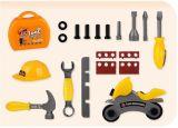 Kind-Schauspielhaus-Plastikspielzeug für Juniorerbauer-Hilfsmittel-Set
