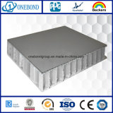 Preço de alumínio revestido do painel do favo de mel de PVDF