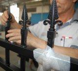Precios de aluminio de la cerca del surtidor de las propiedades inmobiliarias de la tapa 10