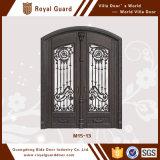 Porte grillagée/porte coulissante profil en aluminium/modèle en verre en aluminium de porte