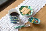 Taza innovadora de los pares, taza de cerámica del amor para el regalo de boda
