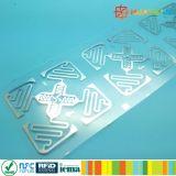 embutimento da freqüência ultraelevada de Impinj H47 Monza 4D RFID da promoção para a logística