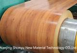 Colorir folha de aço ondulada revestida da telhadura, folha da telhadura do ferro dos materiais