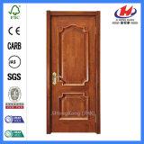 Craftsman contemporánea paneles tallados de madera de caoba del interior de la puerta