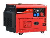 6kw de stille Diesel die Reeks van de Generator door de Motor van Cummins wordt aangedreven