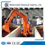 Mini máquina escavadora hidráulica 800kg com o motor Diesel de Yanmar para a exploração agrícola