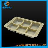 Caixas de empacotamento Foldable dos PP do alimento plástico feito sob encomenda