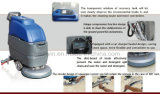 무선 배터리 전원을 사용하는 지면 청소 기계 지면 수세미