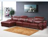 Wohnzimmer-ledernes Sofa für Hotel-Projekt-Ausgangsmöbel (HX-SN062)