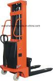 직업적인 디자인 판매에 반 전기 깔판 트럭 상승 쌓아올리는 기계