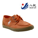 Vulkanisierten beiläufige Segeltuch-Schuhe der Männer Turnschuhe