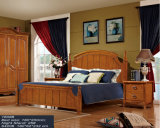 Ikea Furniture, Wooden Bed for Bedroom Furniture (1565)