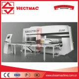 Máquina de perfuração da torreta do CNC do baixo custo, imprensa de perfurador do furo quadrado