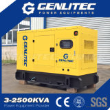 Genlitec力防音30kw Cumminsのディーゼル発電機