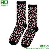 Классицистические цветастые носки хлопка женщин платья