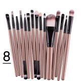 Clases del cepillo 15 del maquillaje de estilos de las herramientas de los cosméticos