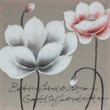 Populäres Haupthandgemachtes Blumen-Ölgemälde der dekoration-100% auf Segeltuch