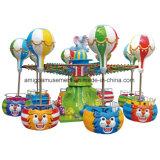 Езда занятности вертолета животных цирка напольная