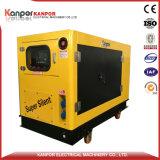 Nieuw Product met Vier Wielen onder de Stille Generator van de Luifel 8kw-18kw