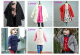 子供の夏の服のための袖なしの花パターン女の子の服